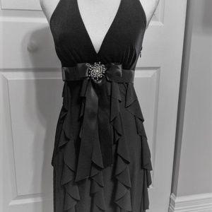 Betsy & Adam Black Special Occasion Dress